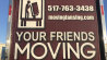 Your Friends - Moving Services Lansing